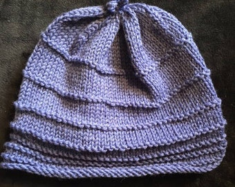 Purpely-Blue Winter Hat