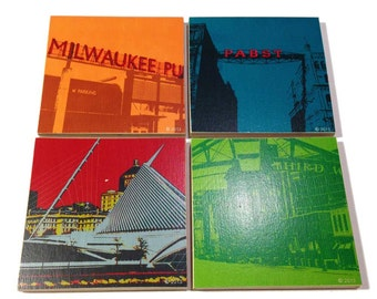 Milwaukee Coaster Set