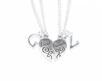 Personalised Best Friend Necklace Set | 2 Necklaces | Best Friend Jewellery | Personalised Jewellery