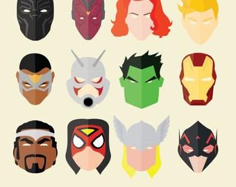 Avengers Assemble! Avengers Decor, Avengers Poster