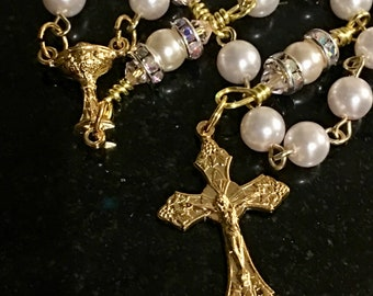 Pretty Pink Rosary