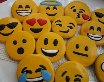 Emoji cookies 12ct