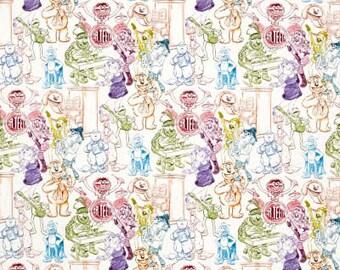 Rainbow Connection / custom fabric