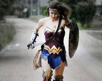 Complete Wonder Woman Dawn of Justice Inspired Costume 2017 Cosplay
