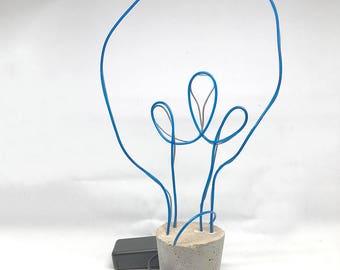 Neon Light & Rope Basket Craft Kit