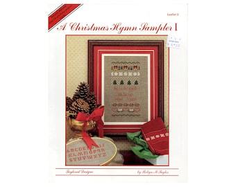 Christmas Hymn Cross Stitch Leaflet, Sampler Cross Stitch, Religious Cross Stitch, Christian Cross Stitch, by NewYorkTreasures on Etsy