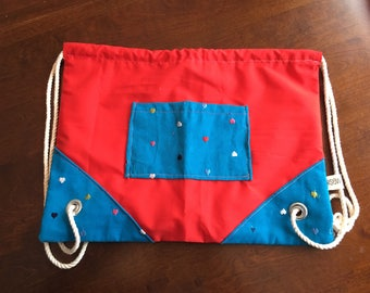 Red Hearts Adventure Bag