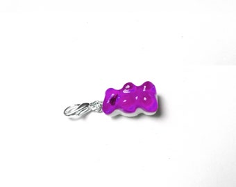 Purple gummy bear - LEXFIMO charm