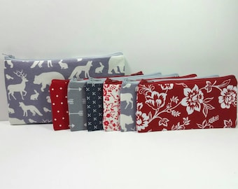 Cash Budget System, Cash Envelope Wallet, READY TO SHIP -In The Woods Animals- (It can be used with the Dave Ramsey system)
