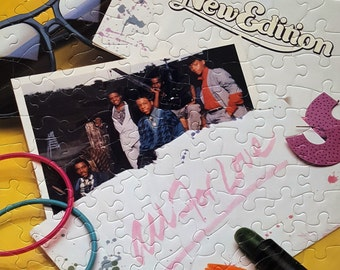 New Edition All For Love Album Cover Puzzle