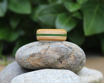 Handmade Wooden Skateboard Ring