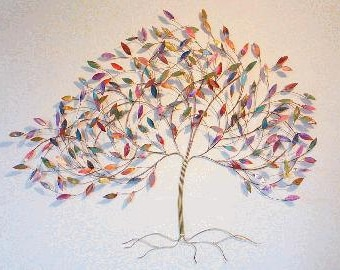 Blowing Elm Tree