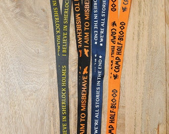 MORE Geeky Fandom Lanyards.  pick one...