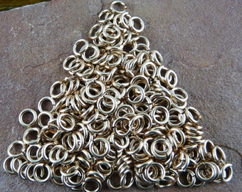 Bronze Jump Rings - 1ozT of 14, 16, 18, or 20 gauge Jump Rings, Custom Cut to your Inner (or outer) Diameter