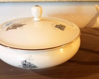 Vintage Western Germany Porcelain Candy Dish