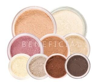 Mineral Makeup Kit Natural Vegan Minerals - XL 12pc GET STARTED Set