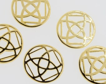 40 mm Geometric charm