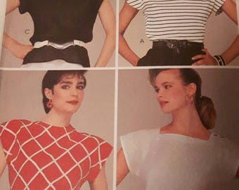 Women's Out of Print Discontinued Top Sewing Pattern
