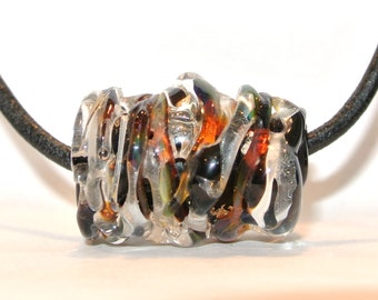 Lampwork Glass Focal Bead - Bewitched!