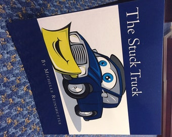 "Self Published Children's Book ""The Stuck Truck""- Free shipping!"