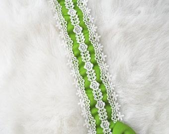 Green Thin Lace Lolita Classical Headdress