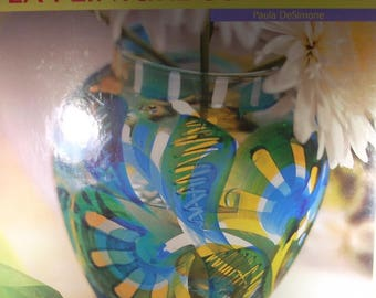 Painting on glass of Paula DeSimone Art and Images