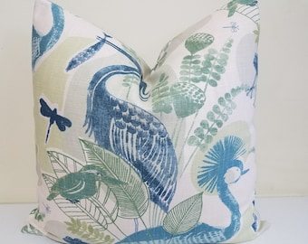 Richloom mangrove in Mineral -  Pillow Cover - Decorative throw pillow - Euro Sham