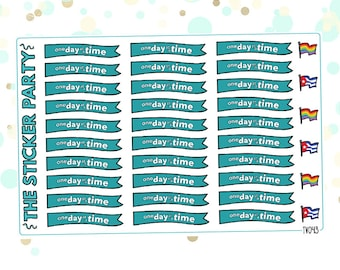 One Day At A Time TV show Planner Stickers