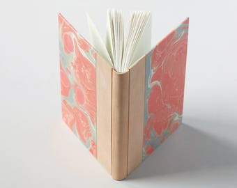 Ballet Pink Marbled Journal