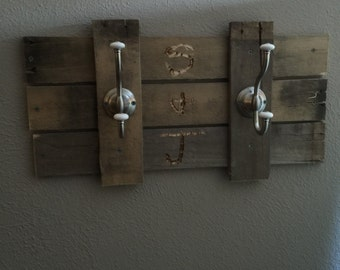 Rustic Towel Rack