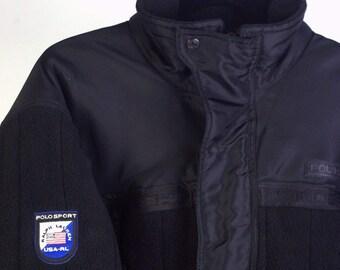 Rare Polo Sport Arctic Challenge Ralph Lauren Extreme parka- jacket size M