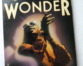 Stevie Wonder, John Swenson, Vintage Book, Softcover Book, Vintage 1986, Famous Singer, Musically Performer, Photos, Academy Awards, Music