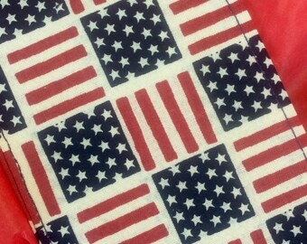 American flag luggage tag, travel, corporate,