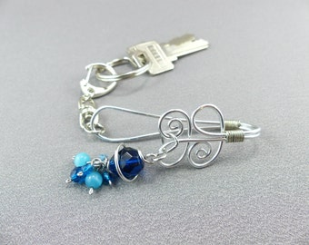 Key Finder Keychain Purse Charm with Detachable Key Ring Purse Accessory - Mother's Day Gift