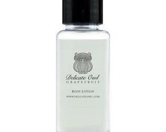 Natürliche Körper oder Handwäsche & Lotion - Mini-Reise-Größe-30 ml-Geschenk-Set (2 x 30ml Flaschen - erhältlich in verschiedenen Düften)