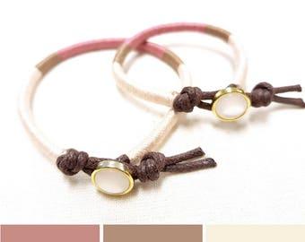 Mother Daughter Bracelet Set, Pink Bracelets, Matching Bracelets, Pink Baby Bracelet, Thread Bracelet, Toddler Bracelet, Gift for Daughter