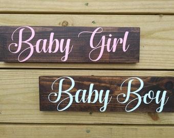 Baby girl or boy