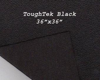 Toughtek Black Non slip Fabric 36 by 36 inches