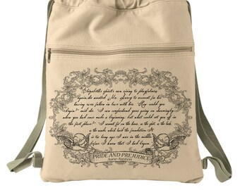 Pride and Prejudice Book Bag