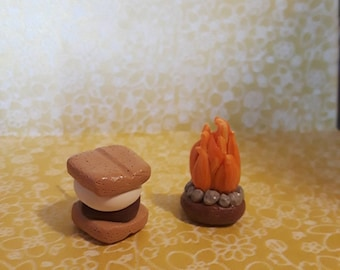 Smores and a toasty campfire