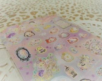 Kawaii Sticker Sentimental Circus San-x planner stickers scrapbooking for letters labels and tags, crafts, Books, Resin, Paper Stationery