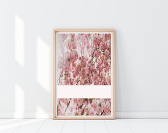 Abstract Floral Print | Home Decor | Wall Art | Download | 16x20