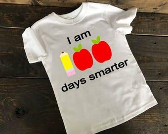 100 Days of School, School Shirt, Elementary School, Pre-K, Daycare, Kids Shirt