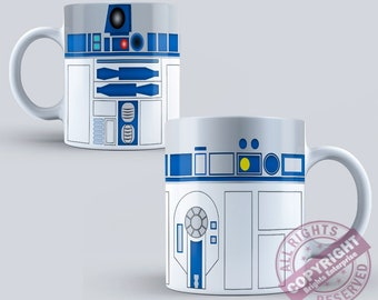 Star Wars RT-D2 Coffee Tea Mug