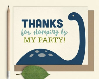 Dinosaur Thank you cards, Dinosaur notecards, Dinosaur thank you, kids notecards, printable dinosaur thank you card, Custom Dinosaur Thanks
