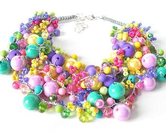 kama4you 3403 necklace crocheted boho