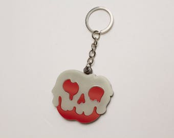 Glow in the dark Poison Apple Keychain - Snow White