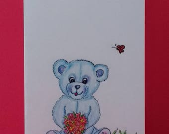 Cute cards/hand drawn cards/cards for kids