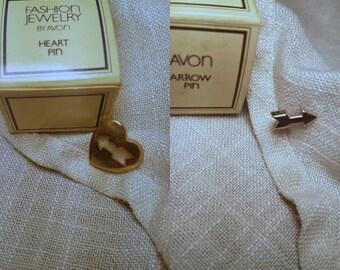 Heart & Arrow Pins