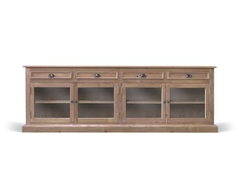 Sideboard, Console Cabinet, Buffet, Media Console, Reclaimed Wood, Handmade, Rustic, Farmhouse